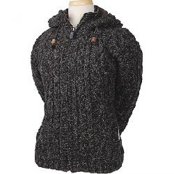 Laundromat Women's Fjord Fleece Lined Sweater Black Natural