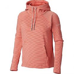 Columbia Women's Bryce Canyon Hoodie Coral Bloom Stripe