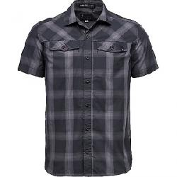 Black Diamond Men's Benchmark SS Shirt Black / Anthracite / Carbon Plaid
