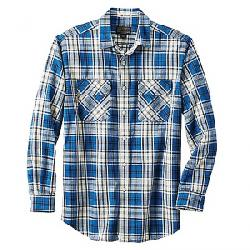 Pendleton Men's Long Sleeve Beach Shack Twill Shirt Ocean Sands Plaid