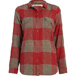 Woolrich Women's Eco Rich Twisted Rich Flannel Shirt II Tamarind Check