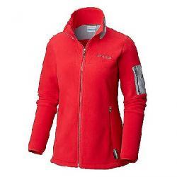 Columbia Titanium Women's Titan Pass II 2.0 Fleece Jacket Red Mercury