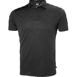 Helly Hansen Men's HH Merino Light Short Sleeve Polo EBONY