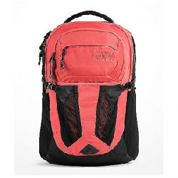 The North Face Women's Recon Backpack TNF Black / Spiced Coral