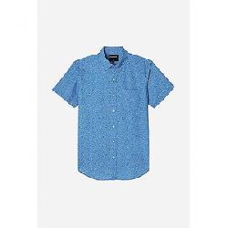 Bonobos Men's Riviera SS Shirt Doodle Toss Ibiza Blue