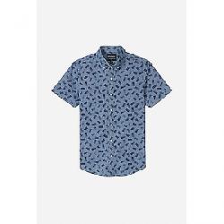 Bonobos Men's Riviera SS Shirt Paint Mark Medium Chambray