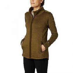 Columbia Women's Place to Place Fleece Full Zip Top Olive Green