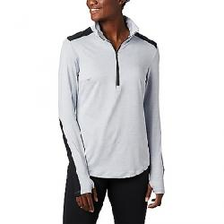 Columbia Women's Place to Place 1/2 Zip Top City Grey