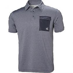 Helly Hansen Men's Oksval Short Sleeve Polo GRAPHITE BLUE