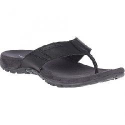 Merrell Men's Sandspur Post Leather Sandal Black