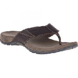 Merrell Men's Sandspur Post Leather Sandal Brown