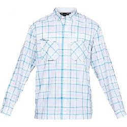 Under Armour Men's UA Tide Chaser Plaid LS Top White / / Elemental