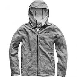 The North Face Men's Maclure Full Zip Fleece Hoodie TNF Medium Grey Heather