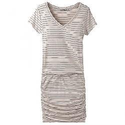 Prana Women's Foundation Dress Pebble Grey Heather Stripe