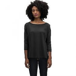 Nau Women's Basis Boatneck LS Shirt Caviar