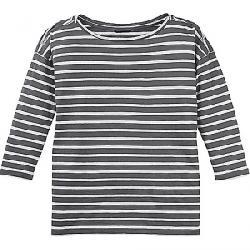 Nau Women's Basis Boatneck Stripe LS Shirt Cape Stripe