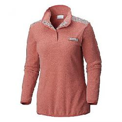 Columbia Women's Harborside Overlay Fleece Pullover Rose Dust / Rose Dust Gingham