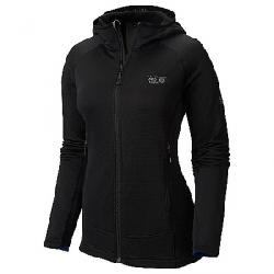 Mountain Hardwear Women's Desna Grid Hooded Jacket Black