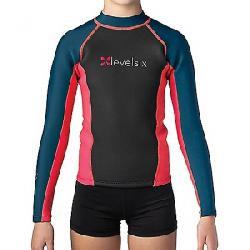 Level Six Children's Carver Neoprene Top Red/Navy