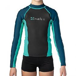 Level Six Children's Carver Neoprene Top Turquoise/Navy