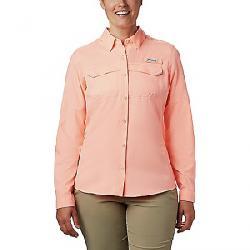 Columbia Women's Lo Drag LS Shirt Tiki Pink