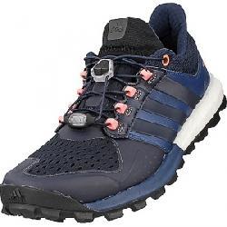 Adidas Women's Adistar Raven Boost Shoe Mineral Blue / Night Navy / Sun Glow