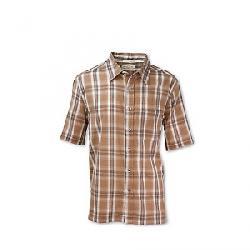 Purnell Men's Aspen Madras Plaid Shirt Brown