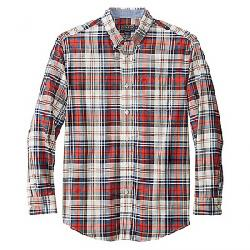 Pendleton Men's Long Sleeve Madras Shirt Blue/Red/Ivory Plaid