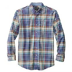 Pendleton Men's Long Sleeve Madras Shirt Navy/Brown Plaid