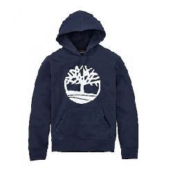 Timberland Men's Logo Hoodie Sweat Black Iris Tree