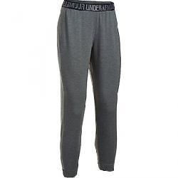 Under Armour Women's UA Featherweight Fleece Pant Carbon Heather / Black / Graphite