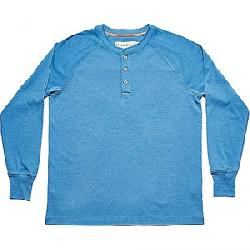 The Normal Brand Men's Long Sleeve Puremeso Henley River