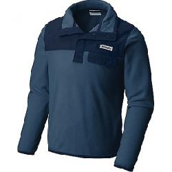 Columbia Youth Harborside Overlay Fleece Top Dark Mountain / Collegiate Navy