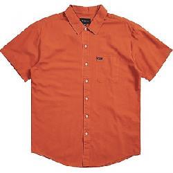 Brixton Men's Charter Oxford SS Shirt Henna
