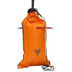 Seattle Sports 99% PVC-Free Dual Chamber Paddle Float Orange
