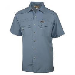 Hook & Tackle Men's Seacliff SS Shirt Bluestone
