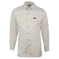 Hook & Tackle Men's Seacliff LS Shirt White