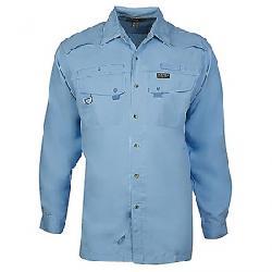Hook & Tackle Men's Seacliff LS Shirt Sky Blue