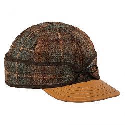 Stormy Kromer Original Cap with Leather Brim Partridge Plaid