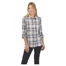 Carhartt Women's Fairview Plaid Shirt Steel Blue