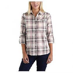 Carhartt Women's Fairview Plaid Shirt Bluestone