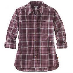 Carhartt Women's Fairview Plaid Shirt Lavender Shadow