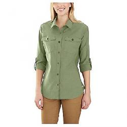 Carhartt Women's Rugged Flex Bozeman Shirt Oil Green