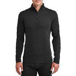 Ozark Trail Men's Wool Blend Half Zip Baselayer Pullover Black