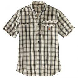 Carhartt Men's Force Ridgefield Plaid SS Shirt Shadow