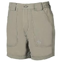 Hook & Tackle Men's Beer Can Island 4-Way Stretch Short Sand