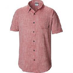 Columbia Men's Under Exposure Yarn Day SS Shirt Rose Dust