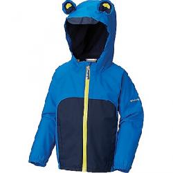 Columbia Infant Kitteribbit Fleece Lined Rain Jacket Super Blue / Collegiate Navy