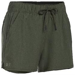 Under Armour Women's UA Turf and Tide Short Downtown Green / Downtown Green / Foliage Green