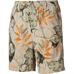 Columbia Men's Super Backcast 6IN Water Short Fossil Sails N Palms Print